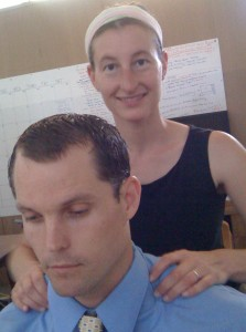 Parama provides chair massage for workplace wellness and special events.