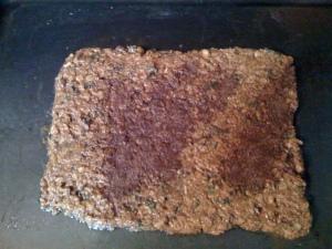 block of granola