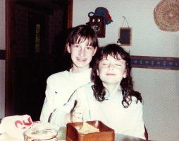 Krista and Jill