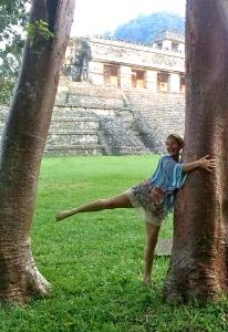 Parama hugging tree at Palenque copy