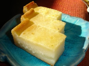 cassava-pudding