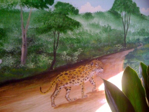 jaguar-on-trail